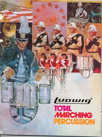Ludwig Total Marching Percussion 1979 catalog