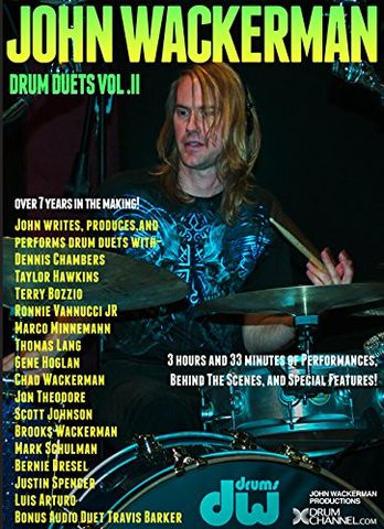 John Wackerman Drum Duets - Volume 2