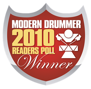 Modern Drummer 2010 Readers Poll Winner