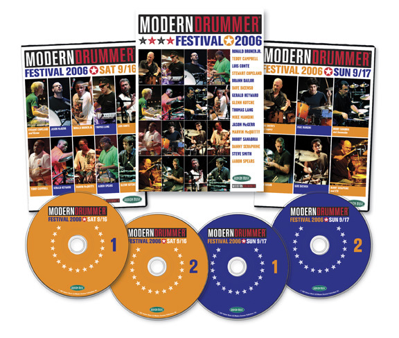 Modern Drummer Festival Weekend 2006 DVDs