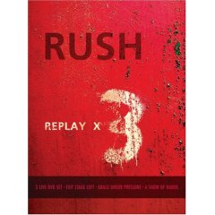 RUSH Replay x 3 DVD